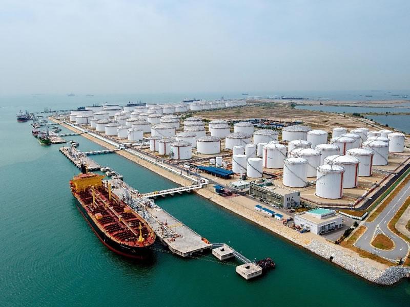 Gestione degli impianti di gas inerte nei terminali petroliferi