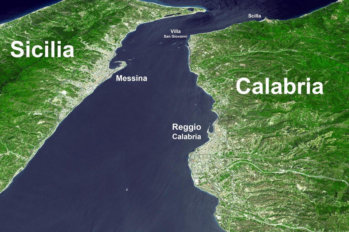 Navigazione Stretto di Messina